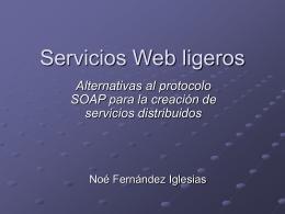 Servicios Web ligeros