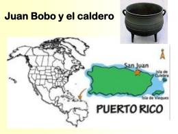 Juan Bobo y el caldero
