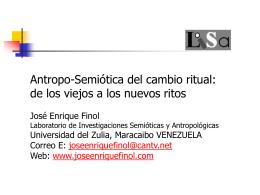 Antropo-Semiótica del cambio ritual
