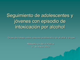 Seguimiento de adolescentes y jóvenes con episodio de