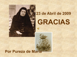 Sin título de diapositiva - Religiosas Pureza de María