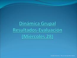 14 Dinamica 3 Resultados