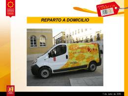 Servicio de Reparto a Domicilio.