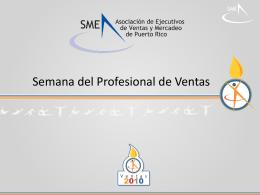 Presentación Informativa - Asociación de Ejecutivos de Ventas y