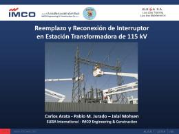 cambio y reconexión de interruptor en et 115 kv (020).