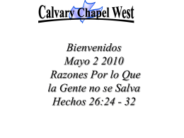 Let The River Flow - Calvary Chapel West
