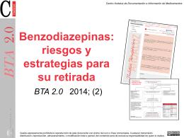 Benzodiazepinas: riesgos y estrategias para su retirada.