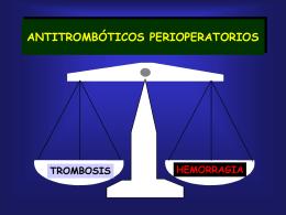 Profilaxis de la enfermedad tromboembólica venosa y momento de