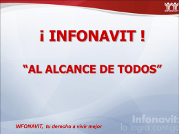Presentacion Infonavit todos los productos 2010[1]