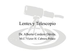 Lentes Y Telescopio.