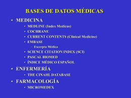 Buscadores de información médica