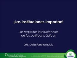 Presentación Delia Ferreira Rubio