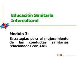 Educación Sanitaria Intercultural Modulo 3