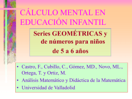 Geometría y Numeros - Universidad de Valladolid