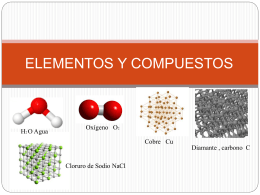 Power Point: Elementos y compuestos