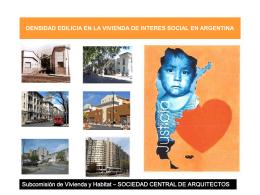 densidad edilicia - Sociedad Central de Arquitectos