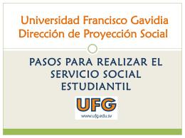 PASOS PARA REALIZAR EL SERVICIO SOCIAL ESTUDIANTIL