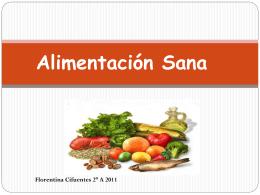 Alimentacion Sana - Colegio Santa Sabina