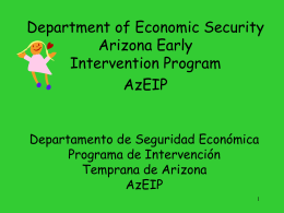 Department of Economic Security (DES)