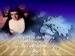 Las cartas de Madre Mazzarello