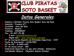 Club Piratas 2011-12