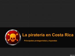 Piratería - huellas culturales
