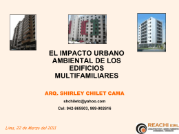 Arq. Shirley Chilet Cama