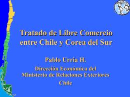 Tratado de Libre Comercio entre Chile y Corea