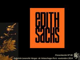 Edith Sachs - Holismo Planetario en la Web