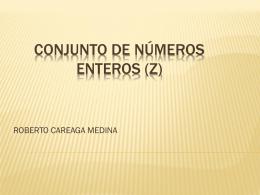 Conjunto de números enteros (Z)