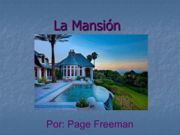 La Mansión - SraRousseau