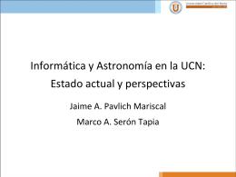 Ingeniería y Astronomía en la UCN