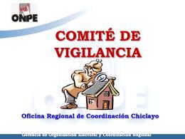 3. ONPE Comite De Vigilancia - Municipalidad Provincial de Chiclayo