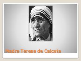 Madre Teresa de Calcuta Infancia