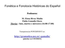 tema1-es - Grupo de Gramática do Español