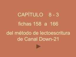 Capítulo 8-2, fichas de 158-166