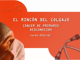 EL RINCÓN DEL COLGAJO - Aula-MIR