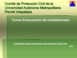 Presentación para Simulacro de Evacuación