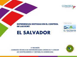 Presentacion de El Salvador