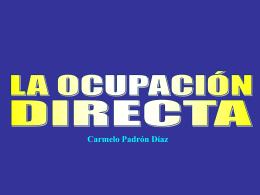 La ocupación directa