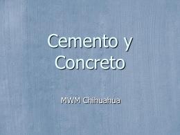 Fabricacion Cemento