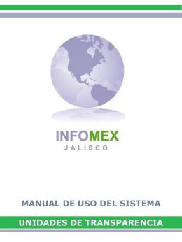 Guía para hacer una solicitud - Gobierno del Estado de Jalisco