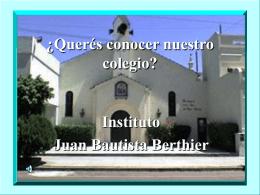 ¿Querés conocer nuestro colegio?
