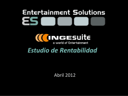 Azul oscuro - Entertainment Solutions