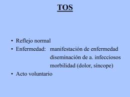 Normal: No tener tos ni expectoración Anormal: Tener expectoración