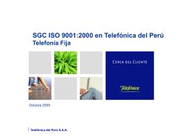 Telefónica del Perú SAA