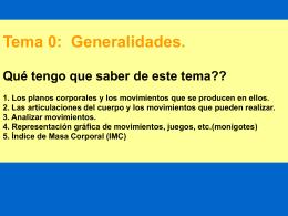 Tema 0 Generalidades. 1112