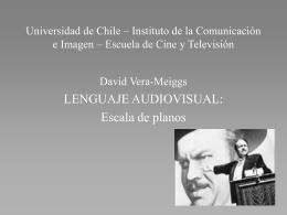 Escala de planos - Instituto de Comunicación e Imagen