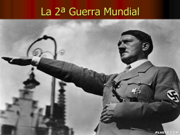 La 2ª Guerra Mundial