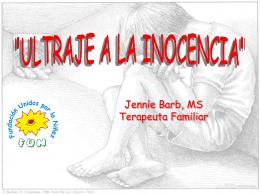 Ultraje a la Inocencia Las Esclavas
